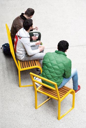 Area - Stuhl und Sessel - Antibes bois