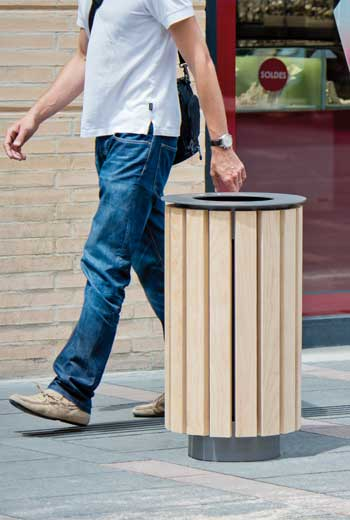Area - Abfallbehälter - Bambou