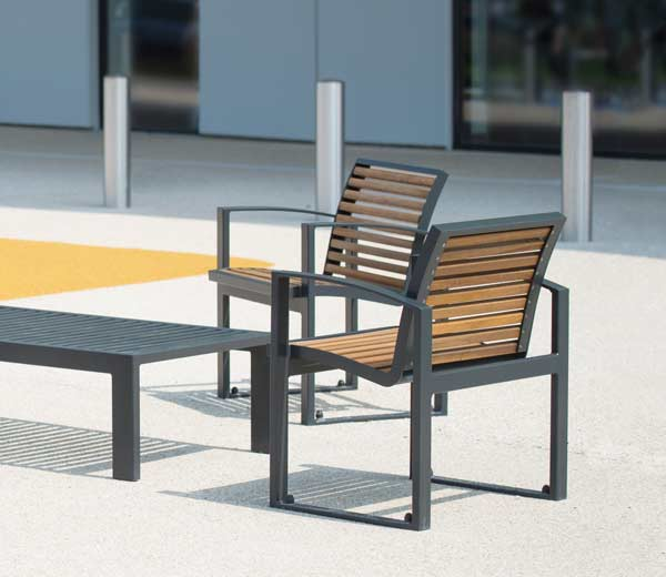 Area - Stuhl und Sessel - Newport bois