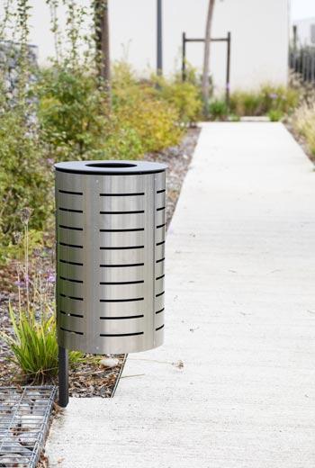 Area - Abfallbehälter - Marguerite inox
